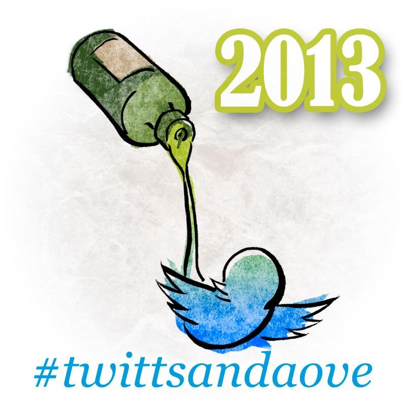 Logo #twittsandaove 2013 diseñado por Alfonso Buendía