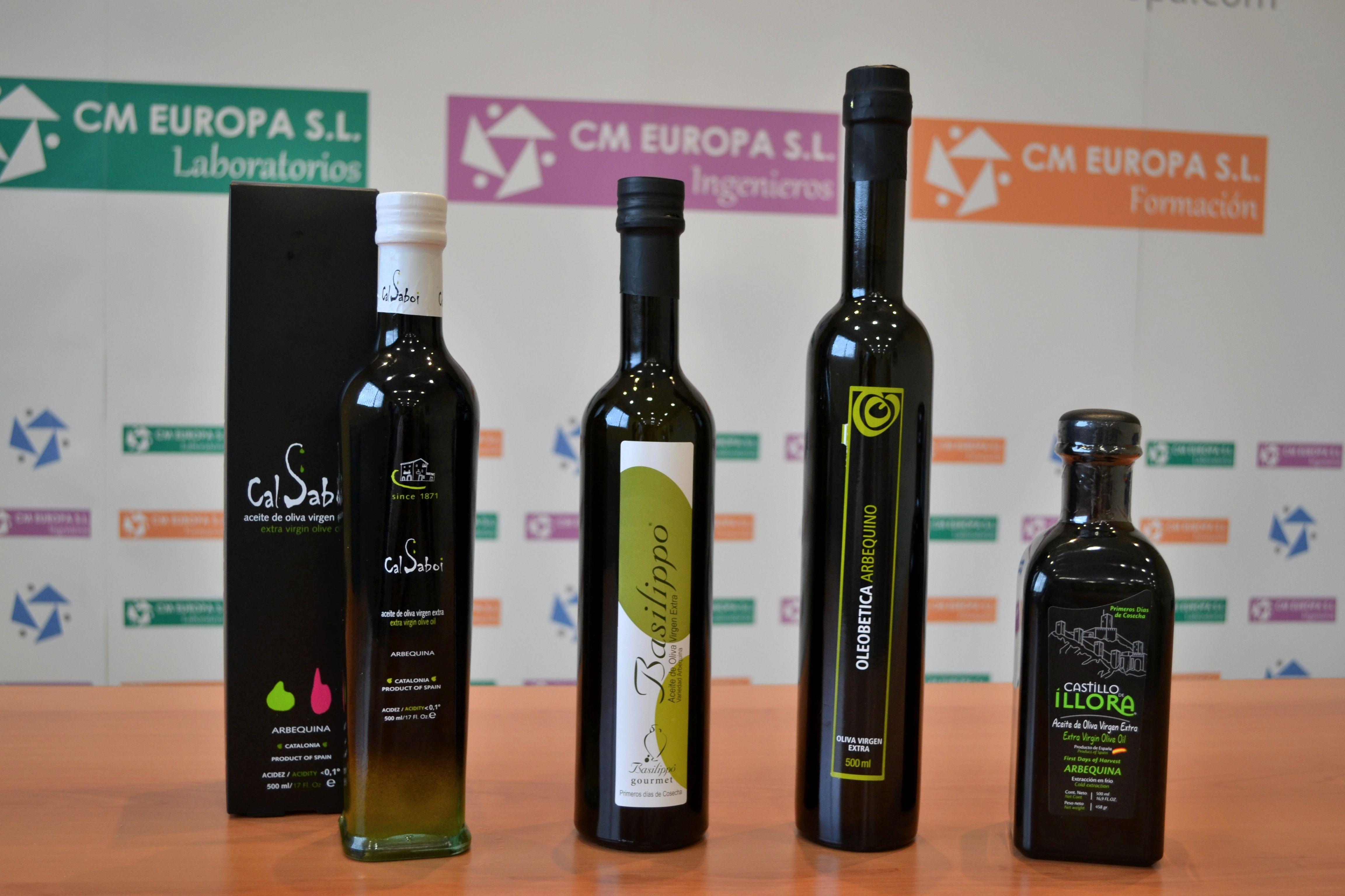 Aceites de Oliva Vírgenes Extras presentes en #Twittsandaove 2013 de la variedad Arbequina