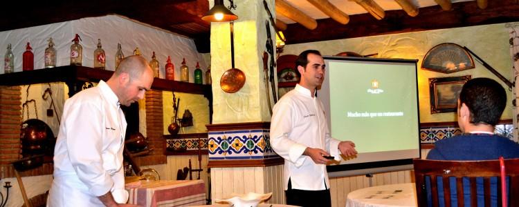 II Encuentro de Bloggers Gastronómicos Gastrotur GT'13. Encuentro y cena en el restaurante Ruta del Veleta