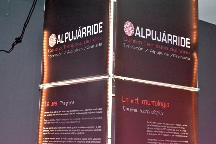 Toten del Centro de Interpretación del Vino Alpujárride.