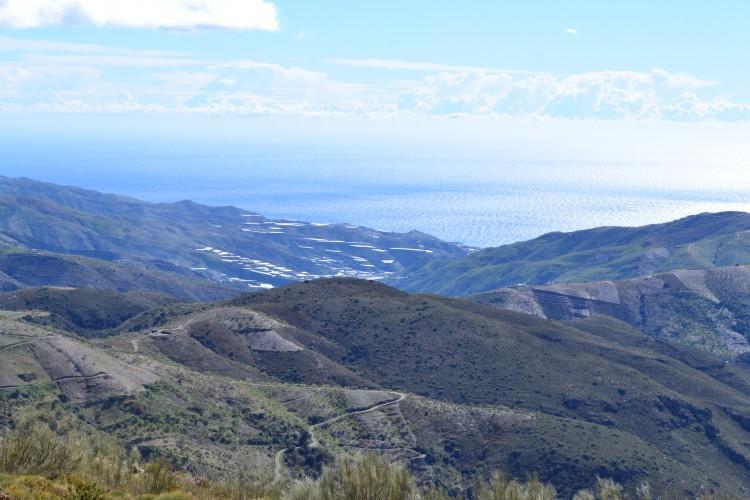 paisaje visto desde el museo interactivo sobre la historia, la tradición y la vitivinicultura de la zona.