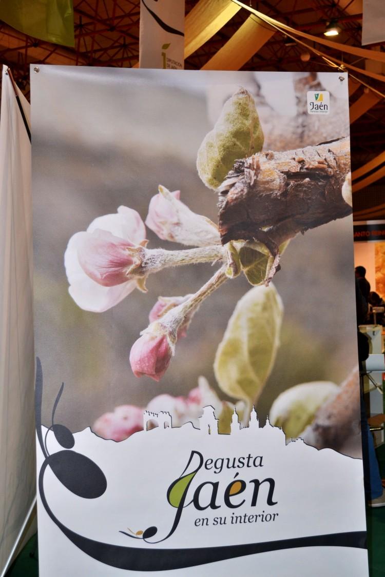 Cartel publicitario Disfruta Jaén