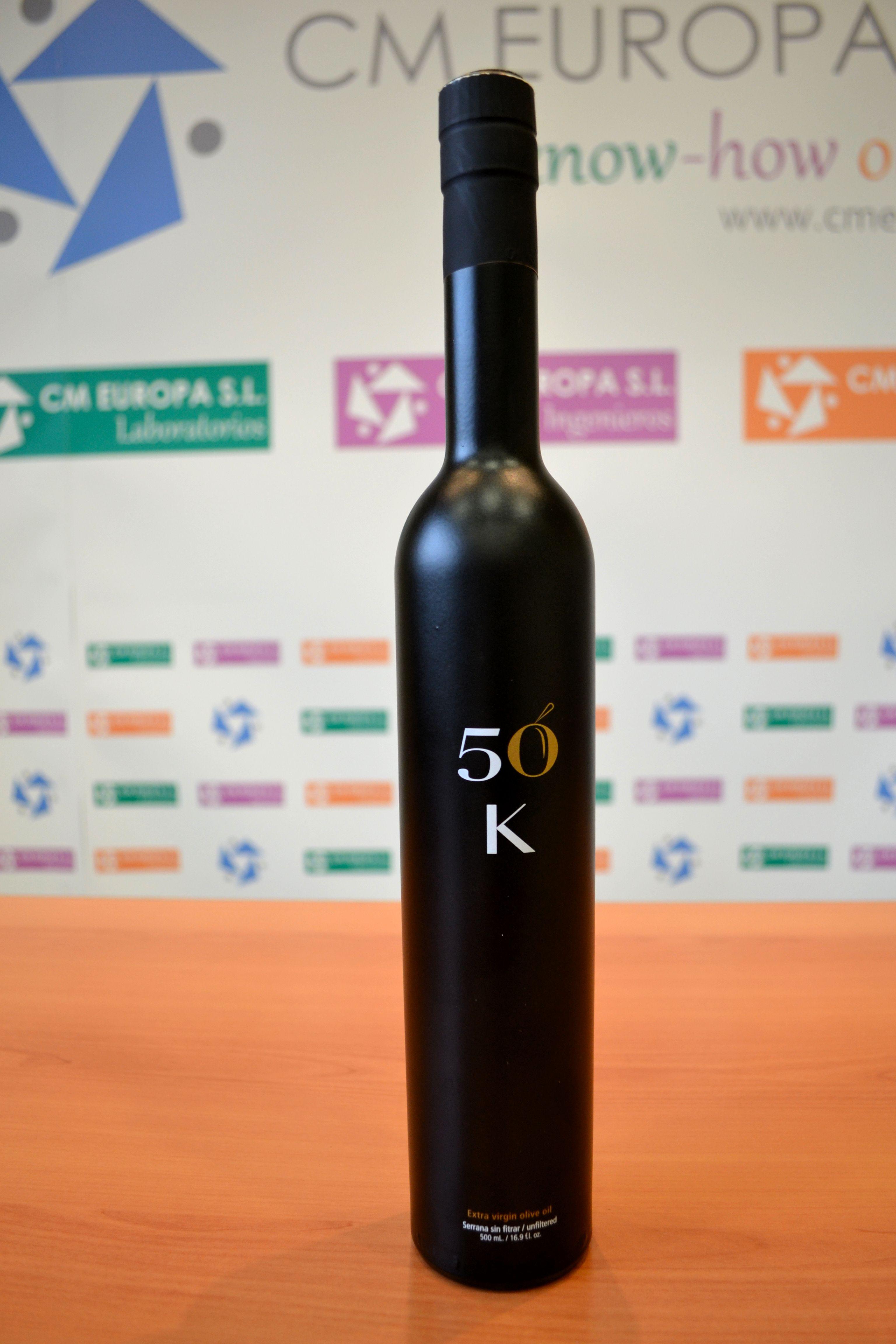 Aceite de Oliva Virgen Extra presente en #Twittsandaove 2013 de la variedad Serrana de Espadán