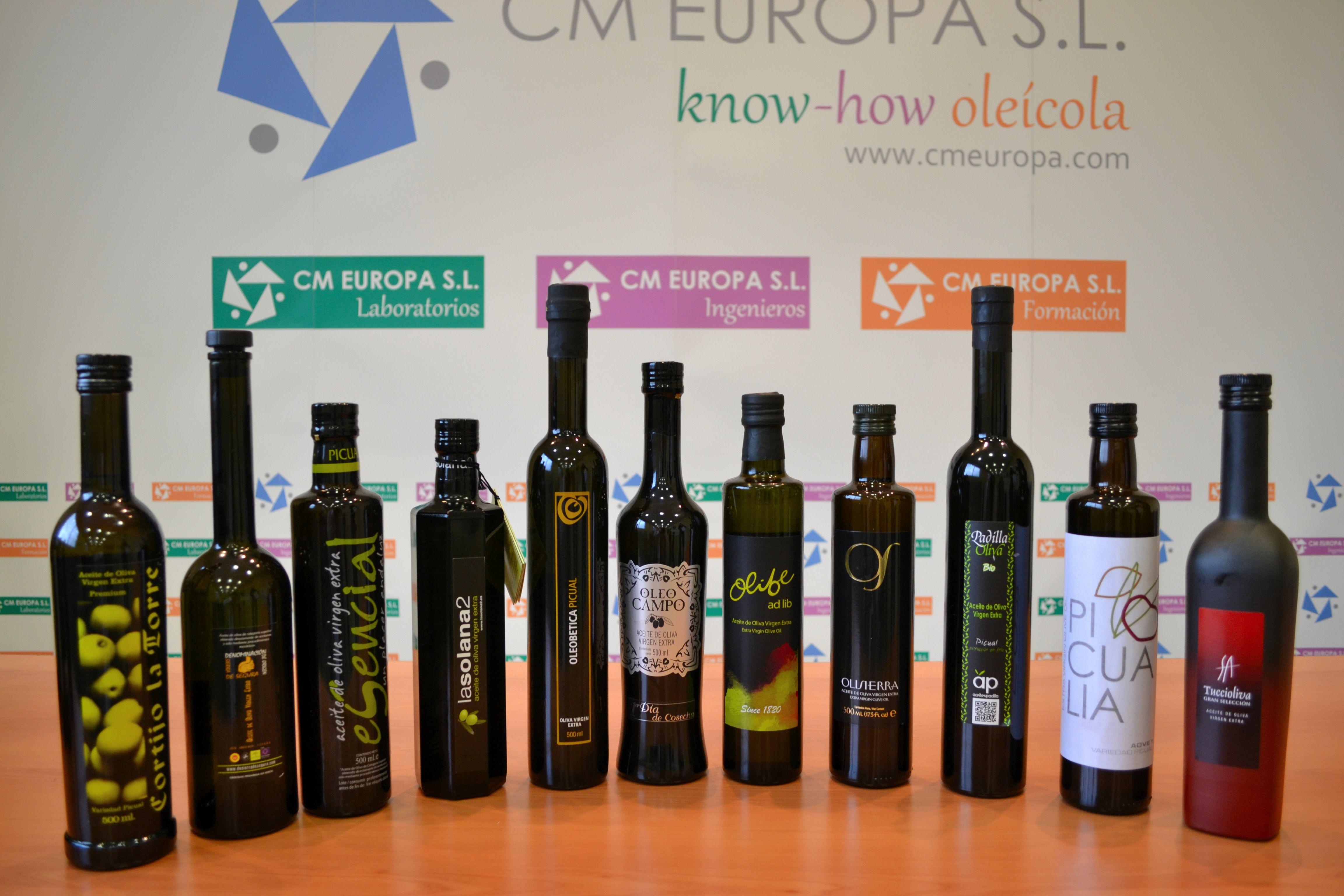 Aceites de Oliva Vírgenes Extras presentes en #Twittsandaove 2013 de la variedad Picual