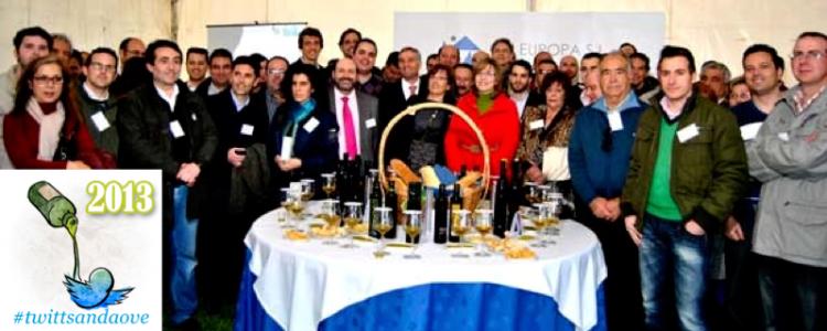 Resumen del II Encuentro de Tuiteros enamorados de los Aceites de Oliva Vírgenes Extras -AOVEs- #twittsandaove 2013. Galería de imágenes