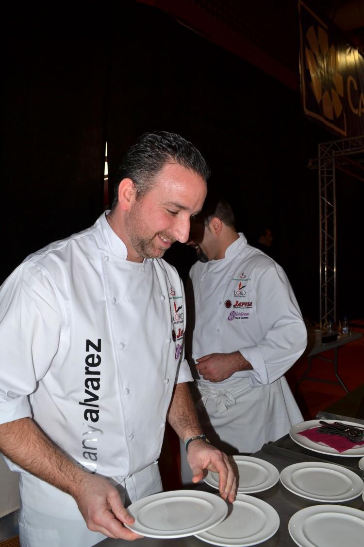 Dany Álvaréz, del Restaurante Sevilla