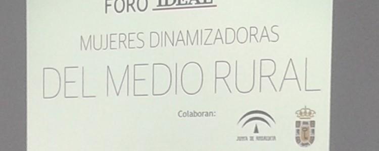 """Participación en la conmemoración del """"Día Internacional de la Mujer Rural"""" organizado por IDEAL"""